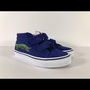 Vans Sk8-Mid Reissue V Reptile Sidestripe Sneakers